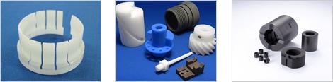 樹脂・難削材・特殊材料加工
