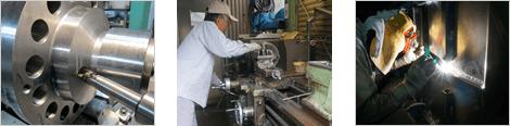空気圧・機械加工